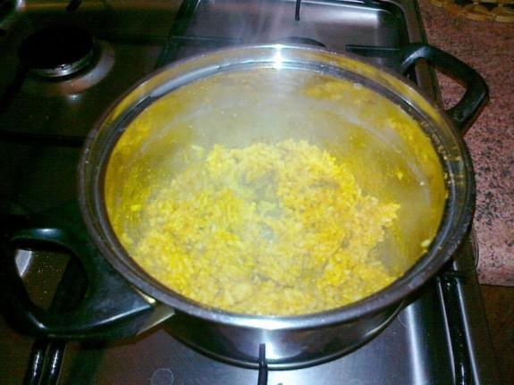 Gotowy ryż curry